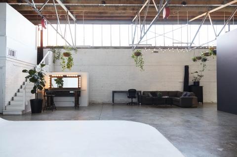 Studio 1 - makeup desk and meeting space