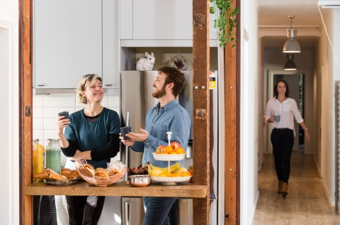 Kitchen/Walkspace