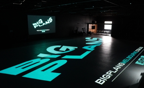 Floor and Wall Projections