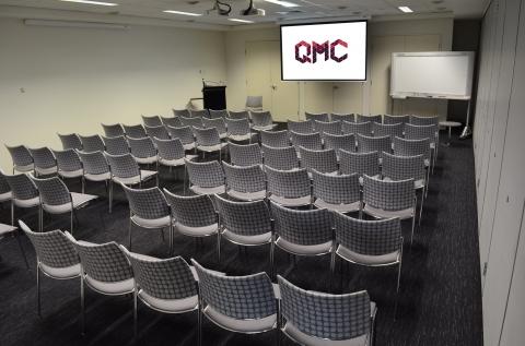 QMC Multipurpose Room - Theatre set up