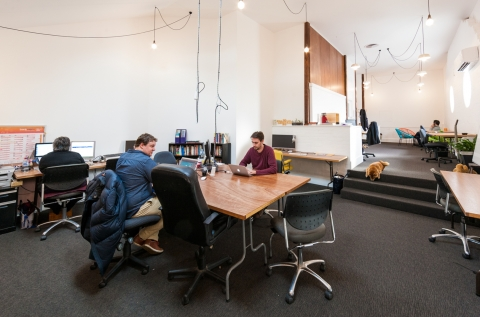 The North Collective work area