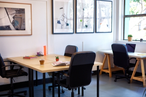 Small Desks in Creative Space