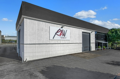 RAW Building front