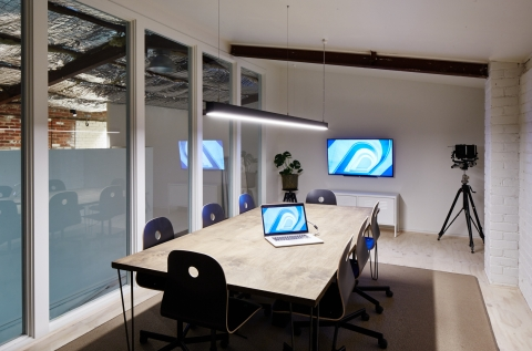 Private meeting room.