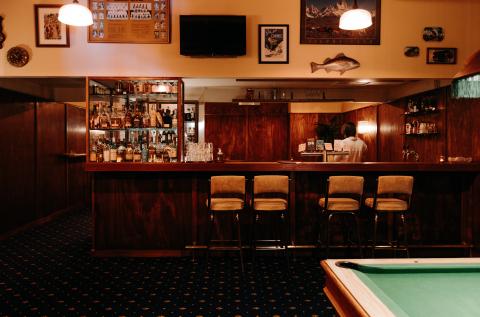 Bar and Pool Room