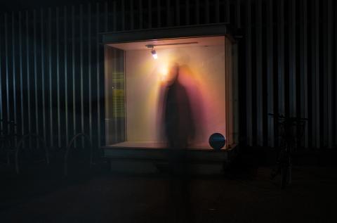 Exhibition: 'Transient Luminescence' Light Installation by Miranda Smith