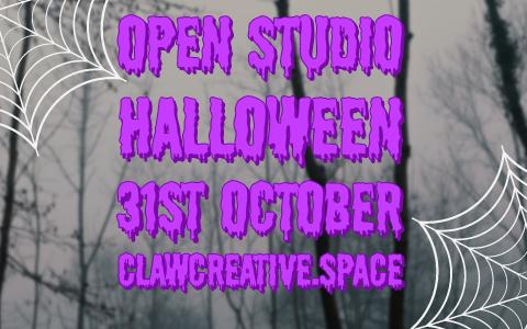 Open Studio - Halloween At CLAW