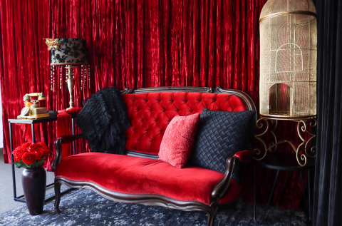 Lounge in Boudoir Studio