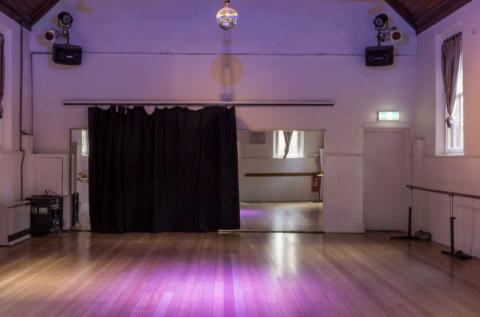 Inside main Hall