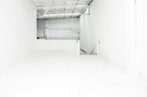 Upstairs studio