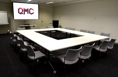 QMC Multipurpose Room - Boardroom set up