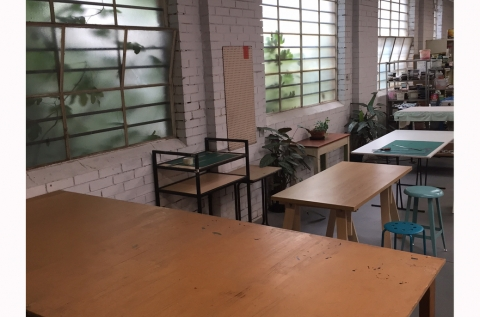 cutting tabe and common area