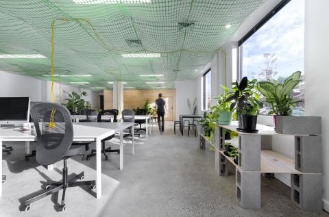 Workspace. Photo: Daniel Herrmann-Zoll