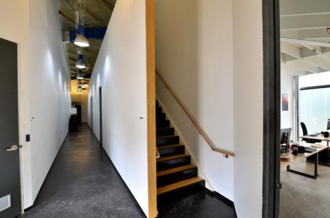 Studio Entry.... We love warehouses!