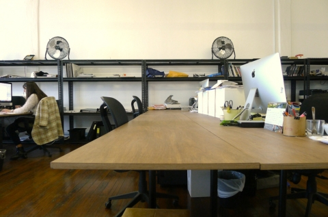 Large desks for 2 people
