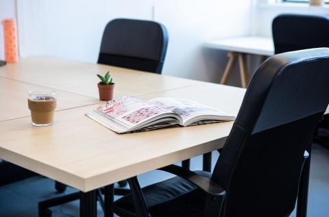 Small Desk in Creative Space