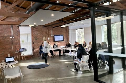 Room for meetings, workshops, off-site