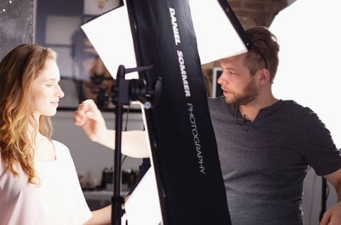 The 'Dale Director Daniel Sommer shooting headshot
