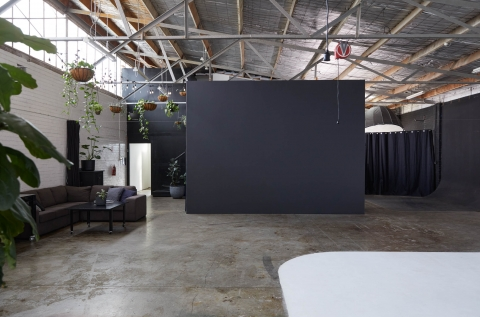Studio 1 - view from the rear of LUMI