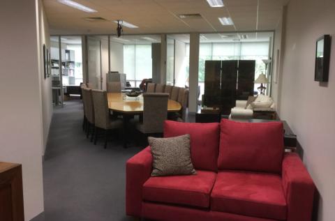 Open plan board room / meeting / training space