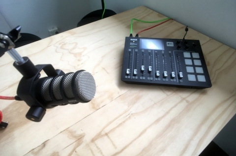 Rodecaster Pro & Rode mics