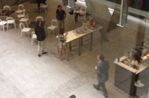 Cafe in Foyer