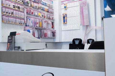 Sewing/Haberdashery counter