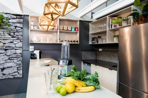 Kitchenette & Indoor Garden Arbour & Reading Nook