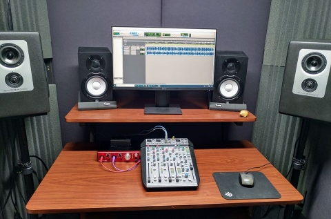 Booth suits a variety of audio applications