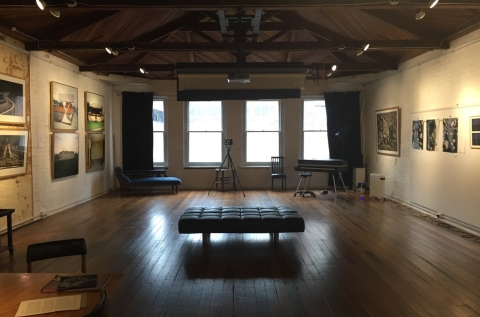 studio as a gallery