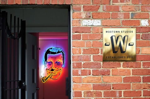 Wootown Studios Front Entrance